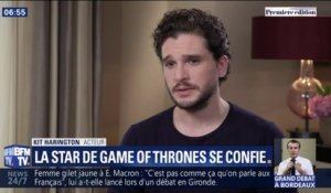"Game of Thrones: Kit Harington (Jon Snow) ""content"" de passer à autre chose"