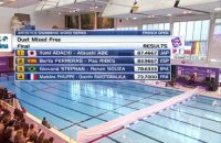 Open de France de natation artistique - Duo libre mixte & Highlights
