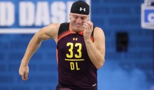 Mike Mayock impressed by Maxx Crosby's official 4.66 40-yard dash