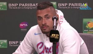 ATP - Indian Wells 2019 - Nick Kyrgios est retombé dans ses travers  !