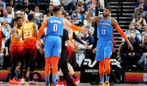 GAME RECAP: Thunder 98, Jazz 89
