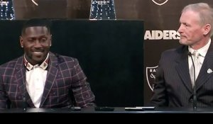 Mike Mayock introduces A.B. as an Oakland Raider