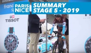Summary - Stage 5 - Paris-Nice 2019