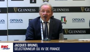 XV de France : Brunel dresse son bilan du Tournoi des VI Nations