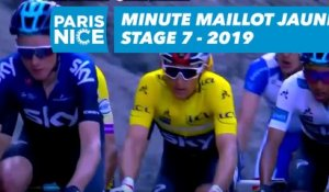 Yellow Jersey Minute / Minute Maillot Jaune - Étape 7 / Stage 7 - Paris-Nice 2019