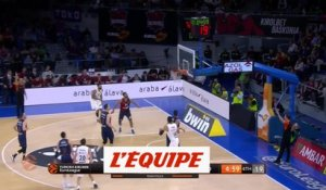 Poirier brille face au Real Madrid - Basket - Euroligue