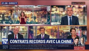 Contrats records avec la Chine