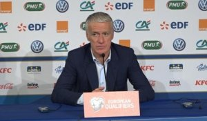 "FOOTBALL: International: Bleus - Deschamps : ""Ce sera un rendez-vous important en Turquie"""