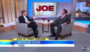 Nicolas Cage Interview 2014  Actor Gets Rave Reviews for 'Joe'