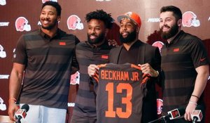 Odell Beckham Jr.'s full introductory press conference with the Browns