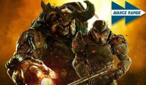 DOOM ETERNAL : Plus fort, plus fou, plus violent ? | AVANCE RAPIDE