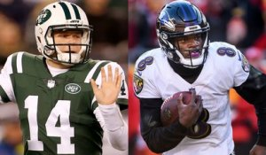Darnold vs. Lamar: Who has higher stakes going into second season?