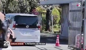 Japon : Carlos Ghosn retourne en prison