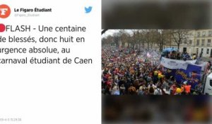 Carnaval étudiant de Caen : 249 personnes secourues, 16 interpellations