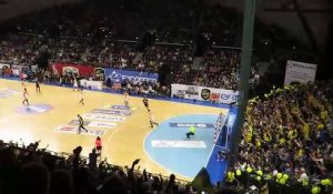 Handball - Tritta enchaine les roucoulettes - Chambéry 33 29 Montpellier