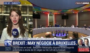 Brexit: Theresa May négocie à Bruxelles (1/2)
