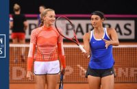 Fed Cup France-Roumanie la minute bleue n°4