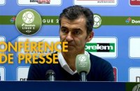 Conférence de presse ESTAC Troyes - Red Star  FC (2-0) : Rui ALMEIDA (ESTAC) -  (RED) - 2018/2019