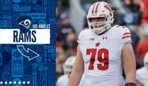 Rams select David Edwards No. 169 in the 2019 draft