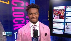 Kyler Murray describes the reactions he's received since draft selection