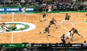 Milwaukee Bucks at Boston Celtics Recap Raw