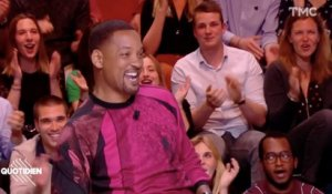 Will Smith met le feu sur le plateau de Quotidien ! - ZAPPING PEOPLE DU 09/05/2019