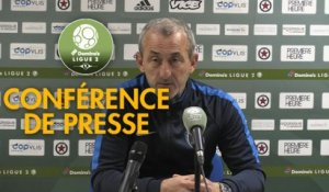 Conférence de presse Red Star  FC - Paris FC (0-1) :  (RED) - Mecha BAZDAREVIC (PFC) - 2018/2019