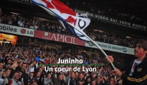 Ligue 1 - Juninho, un coeur de Lyon