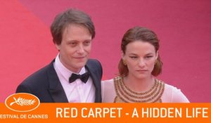 A HIDDEN LIFE -Red Carpet - Cannes 2019  - EV