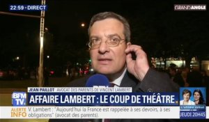 "Avocat des parents de Vincent Lambert: ""Vincent a encore beaucoup de choses à nous dire"""