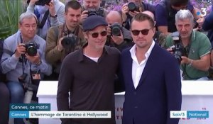 "Festival de Cannes : Tarantino rend hommage à Hollywood avec ""Once upon a time... in Hollywood"""