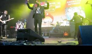 American Authors Performing at Perez Hilton's One Night in Austin at SXSW 2014