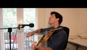 "LIVE: Seth Lakeman ""Portrait of My Wife"" solo on the Fiddle for the AU sessions!"