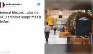 General Electric annonce la suppression d'un millier d'emplois sur son site de Belfort