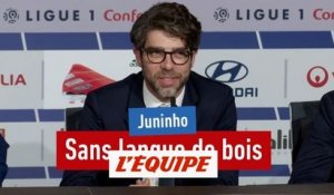Juninho sans langue de bois - Foot - WTF - OL