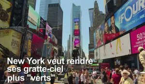 Pollution des gratte-ciel: New York veut donner l'exemple