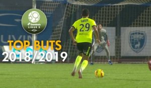 Top 3 buts Chamois Niortais | saison 2018-19 | Domino's Ligue 2