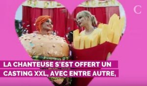 "PHOTOS. Taylor Swift réconciliée avec Katy Perry dans le clip ""You need to calm down"""