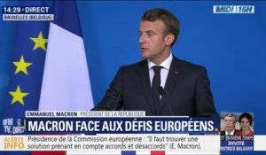 "Brexit : ""Nous regretterons Theresa May"" déclare Emmanuel Macron qui salue ""sa loyauté"" et son ""respect"""