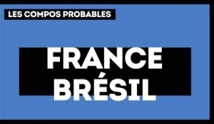 France-Brésil : les compositions probables