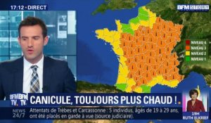 Canicule: toujours plus chaud !