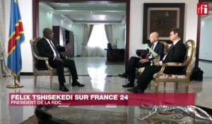 Interview exclusive de Félix Tshisekedi