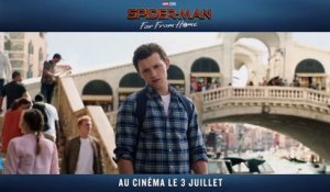 Extrait du film Spider-Man Far From Home - L'eau monte