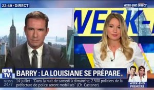 Barry: la Louisiane se prépare