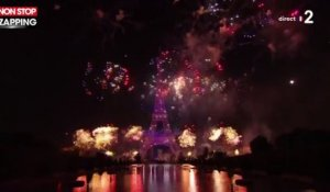 Fête nationale : Le bouquet final impressionnant du feu d'artifice de Paris (vidéo)
