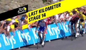 Last kilometer / Flamme rouge - Étape 14 / Stage 14 - Tour de France 2019