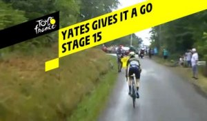 Yates gives it a go / Yates tente le tout pour le tout - Étape 15 / Stage 15 - Tour de France 2019