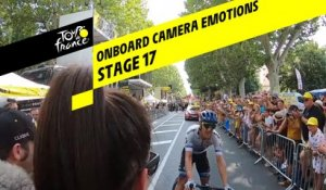 Onboard camera Emotions - Étape 17 / Stage 17 - Tour de France 2019