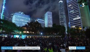 Hong Kong : le mouvement protestataire s'organise