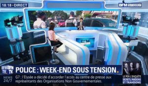 Police: week-end sous tension